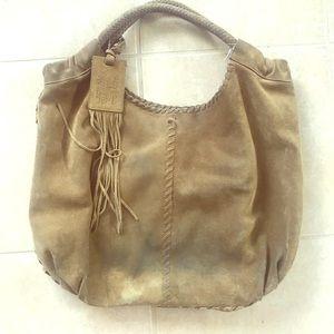 Suede Ralph Lauren handbag